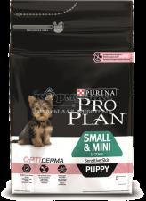 OPTIDERMA® для щенков мелких и карликовых пород с чувствительной кожей С ЛОСОСЕМ
