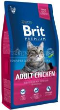 Brit Premium Cat Adult Chicken для взрослых кошек с курицей и куриной печени