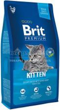 Brit Premium Cat Kitten для котят с курицей в лососевом соусе
