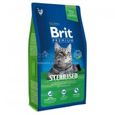 Brit Premium Cat Sterilised с курицей и куриной печенью
