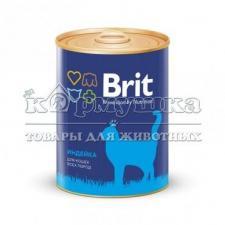 Brit Premium консервы для кошек с индейкой 340гр