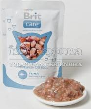 "Brit (Брит) Care Cat Tuna Pouch ""Тунец"" 80 g"