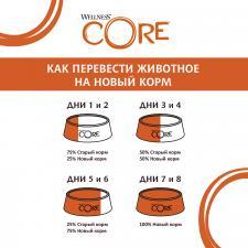 Корм  для стерилизованных кошек и кастрированных котов Wellness Core Sterilised беззерновой (лосось)