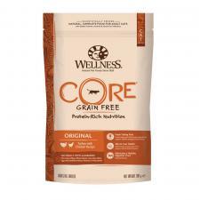 Wellness Core Original беззерновой сухой корм для взрослых кошек, индейка с курицей