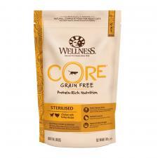 Wellness Core Sterilised беззерновой сухой корм для кастрированных котов и кошек, курица с индейкой