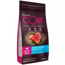Корм для взрослых собак мелких пород Wellness CORE  из лосося с тунцом 1,5 кг