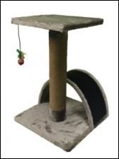 Когтеточка-столбик с аркой