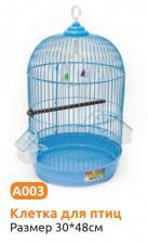 Клетка для птиц круглая А003