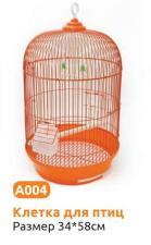 Клетка для птиц круглая А004