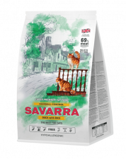 Корм для кошек Savarra Hairball