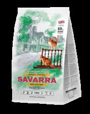 Корм для кошек Savarra Hairball