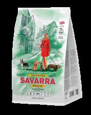 Корм для собак мелких пород SAVARRA гипоаллергенный