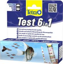 Tetra Test 6 in 1 Stips