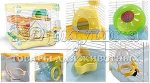 Клетка для грызунов Triol 4040