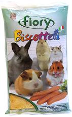 Бисквиты для грызунов Fiory Biscottelli с морковью