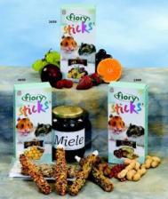 Палочки для хомяков Fiory Sticks с фруктами, 2х50 гр.