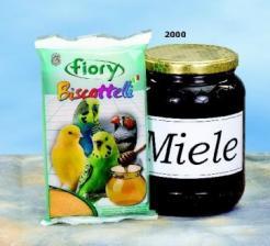 Бисквиты для птиц Fiory Biscottelli с медом, 35 гр.