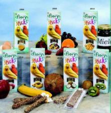 Палочки для канареек Fiory Sticks с фруктами, 2х30 г