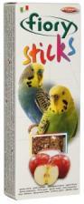 Палочки для попугаев Fiory Sticks с яблоком