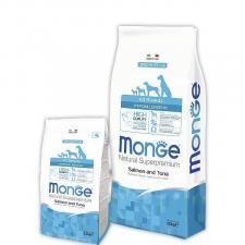 Корм для собак всех пород Monge Dog Speciality Hypoallergenic, гипоаллергенный (лосось, тунец)