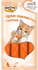 Крем-лакомство для кошек Мнямс (с курицей)