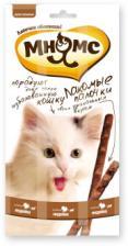 Лакомство для кошек Мнямс палочки 13,5 см с индейкой и ягненком