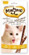 Лакомство для кошек Мнямс палочки 13,5 см с цыпленком и печенью