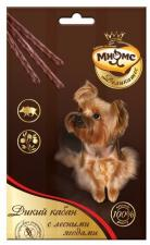 Лакомство для собак Мнямс, палочки 13,5см с мясом дикого кабана и лесными ягодами