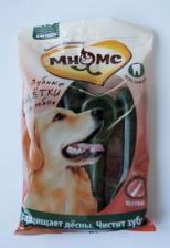 Лакомство для собак Мнямс, зубная щетка круглая