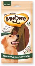 Лакомство для собак Мнямс, мясные полоски ассорти