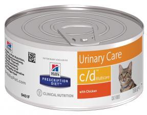 Хиллс консерва для кошек Диета C/D