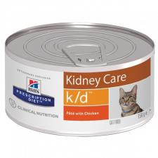 Консерва для кошек Hill,s K/D диета, лечение заболев. почек