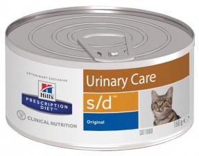Хиллс консерва для кошек Диета S/D