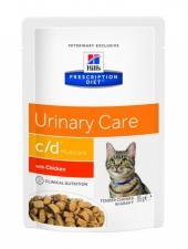 Влажный корм для кошек Hill`s c/d диета