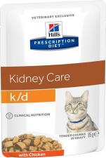 Влажный корм для кошек Hill`s k/d диета