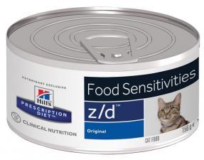 Влажный корм для кошек Hill`s z/d диета, гипоаллергенный