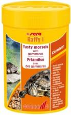 Корм для водных черепах Sera Raffy P, основной рацион, палочки, 250 мл.