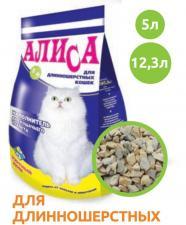 Наполнитель для кошачьих туалетов Алиса