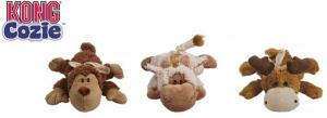 """Игрушка для собак KONG """"Кози Натура"""" (обезьянка, барашек, лось)"""