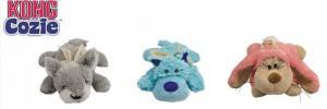 """Игрушка для собак KONG """"Кози Пастель"""" (волк, коала, кролик) плюш"""