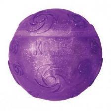 Игрушка для собак KONG Squezz Crackle хрустящий мячик большой 7 см