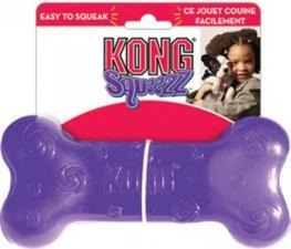 Игрушка для собак KONG Сквиз Косточка 15 см средняя