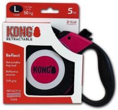 Поводок-рулетка KONG Reflect L (до 50 кг) лента 5 метров