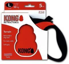 Поводок-рулетка KONG Terrain L (до 50 кг) лента 5 метров