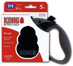 Поводок-рулетка KONG Terrain M (до 30 кг) лента 5 метров