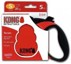 Поводок-рулетка KONG Terrain S (до 20 кг) лента 5 метров