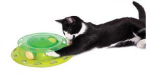 Игрушка для кошек Petstages Трек с контейнером для кошачьей мяты