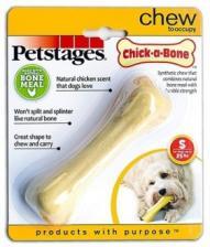 Игрушка для собак Petstages Chick-A-Bone косточка с ароматом курицы