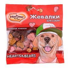 "Лакомство для собак  ""Жевалки HEARTS&BEARS"""