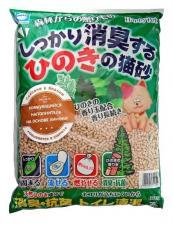 Наполнитель для кошачьих туалетов Древесный на основе хиноки (пр-во Япония)